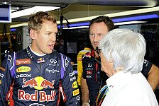 Formel 1 - Von wegen Kumpel: Vettel enttäuscht Ecclestone