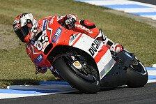 MotoGP - Ducati: Pole-Setter Dovizioso im Rennen chancenlos