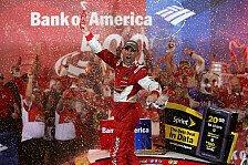 NASCAR - Harvick siegt in Charlotte
