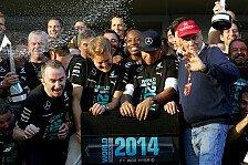 Formel 1 - Mercedes ist Konstrukteursweltmeister!