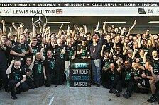 Formel 1 - Hamilton: Die zwei besten Jahre meines Lebens