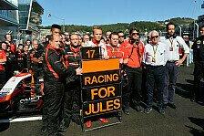 Formel 1 - Bianchi: Fortschritte nicht wie erhofft