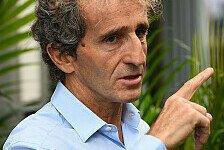 Formel 1 - Professor Prost: F1-Autos sind zu kompliziert