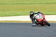 Moto3 - Kiefer-Fahrer auf der Suche nach der Ideallinie