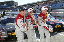 DTM - Audi: Sechs Autos in Top-Ten