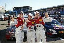 DTM - Die Audi-Stimmen zum Qualifying in Hockenheim