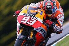 MotoGP - Marquez startet mit Bestzeit auf Phillip Island