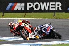 MotoGP - Marquez ringt Lorenzo in letzten Runden nieder