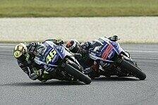 MotoGP - Rossi über seine Motivation im Kampf um P2