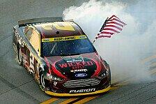 NASCAR - Keselowski siegt beim Talladega-Thriller