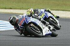 MotoGP - FP1: Lorenzo standesgemäß mit Bestzeit