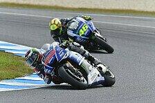 MotoGP - Lorenzo entreißt Rossi Pole in letzter Sekunde