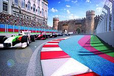 Formel 1 - So entstand die Monster-Gerade von Baku