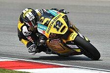 Moto2 - Valencia: Finaler Kampf um WM-Positionen