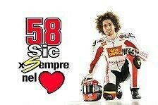 Marco Simoncellis Startnummer 58 wird in der MotoGP nie wieder vergeben