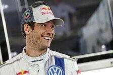 WRC - Sebastien Ogier: Ich habe mich in Gefahr gebracht