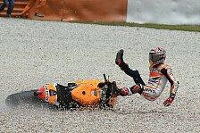 MotoGP - Sturz-Parade in Montmelo: Drama in sieben Akten