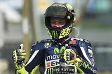 MotoGP - Rossi bricht Unserie: Erste Pole seit 2010