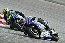 MotoGP - Rossi vs. Lorenzo: Die Trainingszeiten im Check