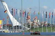 Formel 1 - Sochi und Sepang begrüßen Rennkalender 2016