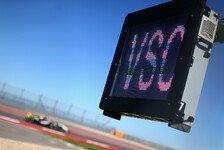 Formel 1 - FIA: Virtuelles Safety Car ab 2015 im Einsatz