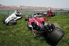 Formel 1 - Keine Strafen nach Startcrash