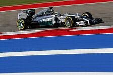Formel 1 - USA GP: Hamilton bezwingt Rosberg
