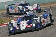 WEC - Toyota-Doppel-Triumph zum Greifen nah