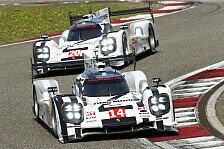WEC - 1. Training: Raketenstart von Porsche