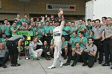 Formel 1 - Mercedes feiert Rennen der Rekorde