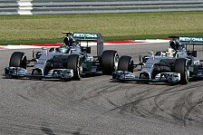 Formel 1 - Rennanalyse: Erzwang Hamilton Rosbergs Fehler?