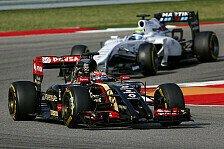 Formel 1 - Lotus nimmt sich Williams zum Vorbild