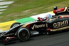 Formel 1 - Jetzt aber! Grosjean verlängert mit Lotus
