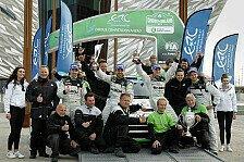 Mehr Rallyes - Lappi neuer ERC-Champion vor Markenkollege Wiegand