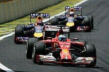 Formel 1 - 2015 angeblich 3 Autos für Red Bull und Ferrari