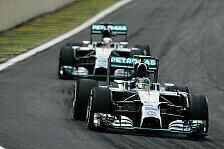Formel 1 - Brasilien GP: Rosberg erhält WM-Chancen