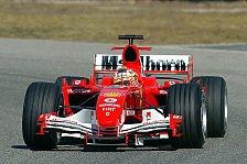 Formel 1 - Mugello: Luca Badoer fuhr erste Runden mit dem F2005