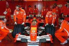 Formel 1 - Mugello: Badoer setzte F2005-Tests fort