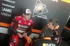 MotoGP - Bradl: 50 Runden beim Yamaha-Debüt