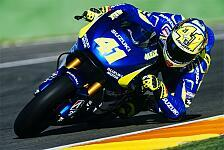 MotoGP - Suzuki macht am Mittwoch große Fortschritte