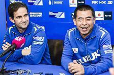 MotoGP - Suzuki-Teamchef Brivio: Situation ist schwierig