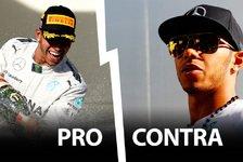 Formel 1 - Pro & Contra: Sollte es mehr Hamiltons geben?