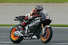 MotoGP - Marquez führt ersten Testtag an