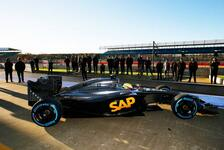 Formel 1 - McLaren: Erster Test mit Honda-Motor