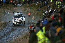WRC - Die große Ogier-Latvala-Show in Wales