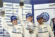 WEC - Porsche holt den Premierensieg beim Finale