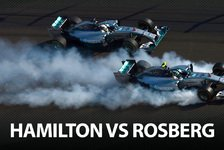 Formel 1 - Hamilton vs. Rosberg: Krieg der Sterne