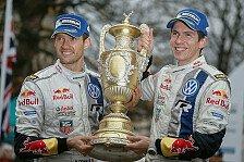 WRC - Volkswagen mit neuem Rekord in Großbritannien