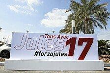 Formel 1 - Bianchi: Jeden Tag absolviert Jules einen Marathon