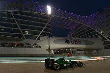 Formel 1 - Caterham: Kobayashi & Stevens zufrieden